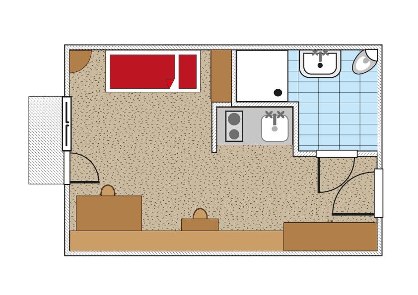 Küchenzeile Spülbecken ~ studentenwohnheim wien studentenzimmer in top lage